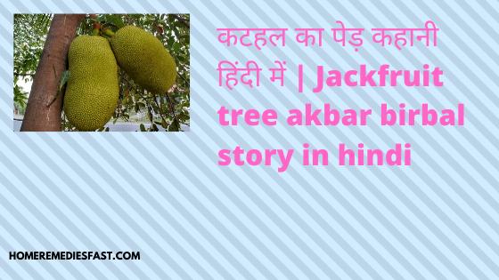 कटहल-का-पेड़-कहानी-हिंदी-में-Jackfruit-tree-akbar-birbal-story-in-hindi