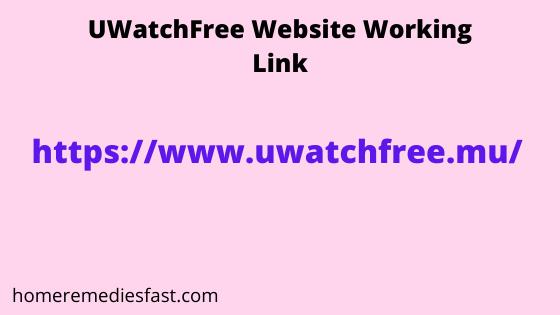 UWatchFree Website working link