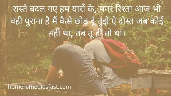 बेस्ट फ्रेंड स्टेटस in Hindi