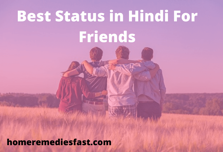 Best Status in Hindi for Friends