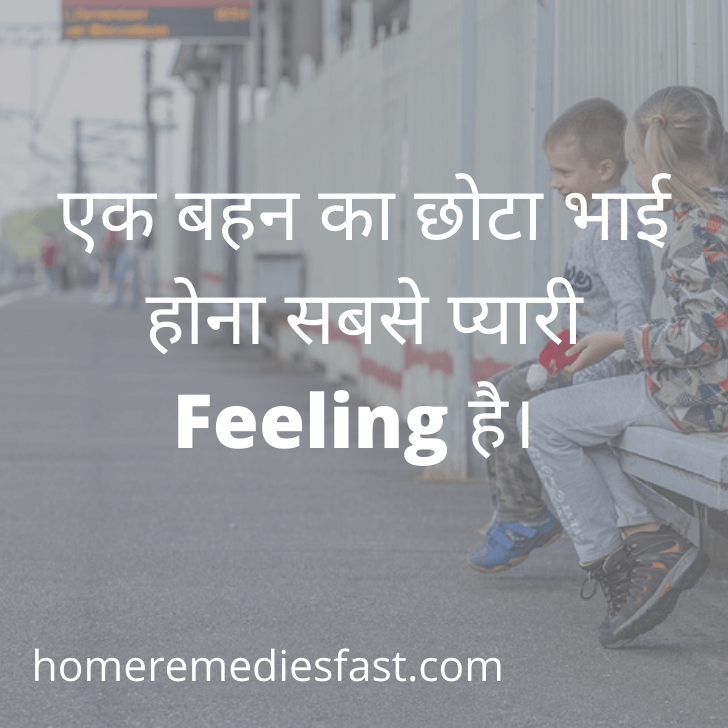 Sister Quotes in Hindi 2 line