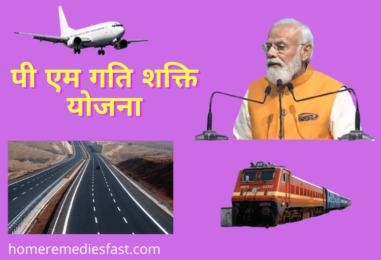 PM Gati Shakti Yojana Kya Hai in Hindi